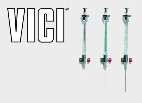 Vici Syringes and logo