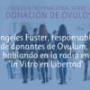 Ovulum en radio In Vitro en Libertad hablando de donación de óvulos
