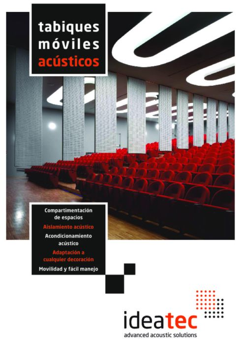 thumbnail of Ideatec Catalogo Tabiques Moviles Acusticos