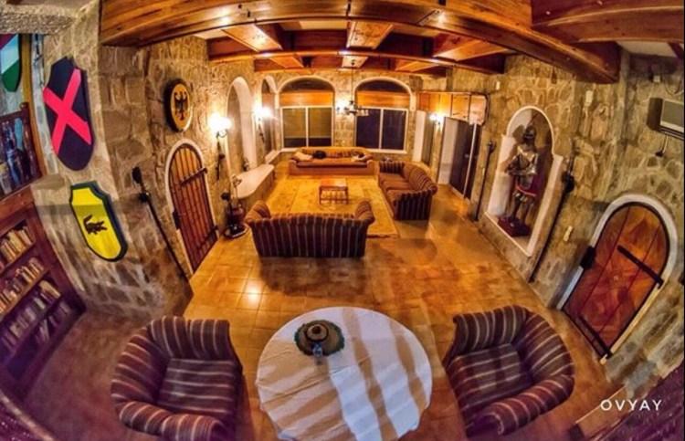 Inside shot of Kajuru Castle