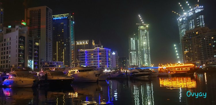 Dubai Marina night shots