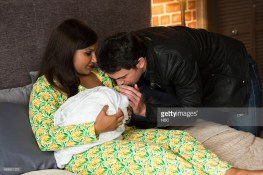 """THE MINDY PROJECT -- """"Leo Castellano Is My Son"""" Episode 403 -- Pictured: (l-r) Mindy Kaling Mindy, Chris Messina as Danny -- (Photo by: Jessica Brooks/NBC/NBCU Photo Bank)"""