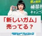 ブルゾンちえみのCM『あんスタ』の「新しいガム」は売ってる?味は何味?