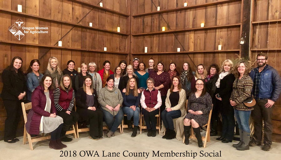 Oregon Women for Agriculture Membership Social