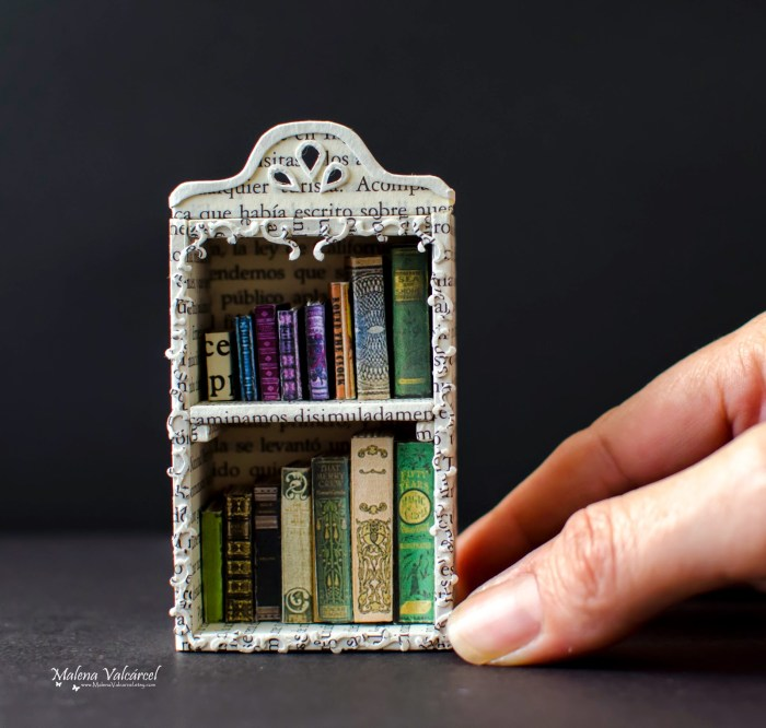 miniature-library-paper-art-with-name