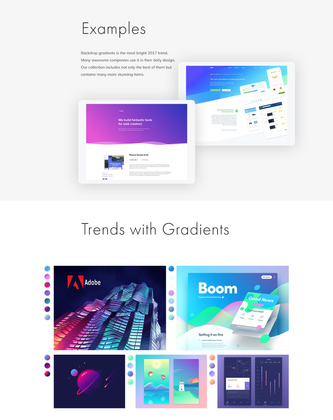 Web Gradients Collection by itmeo by Dima Blover