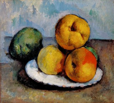 Paul Cézanne Still Life with Quince, Apples, and Pears, ca. 1885-87 White House Historical Association