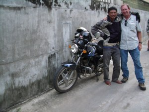 Gord with his rider Tien