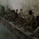 Prisoners in Shackles