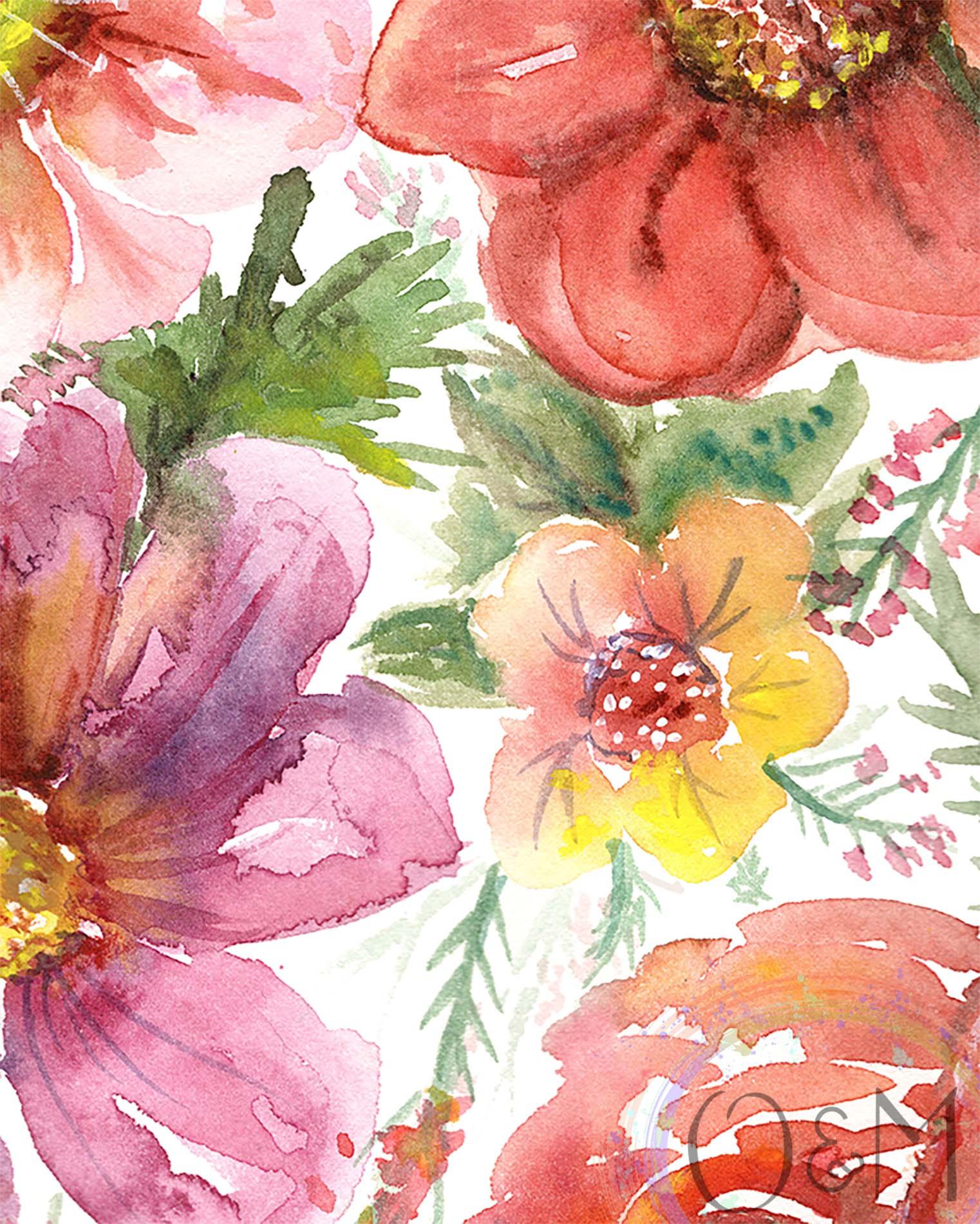 Daisy Flower Wall Art