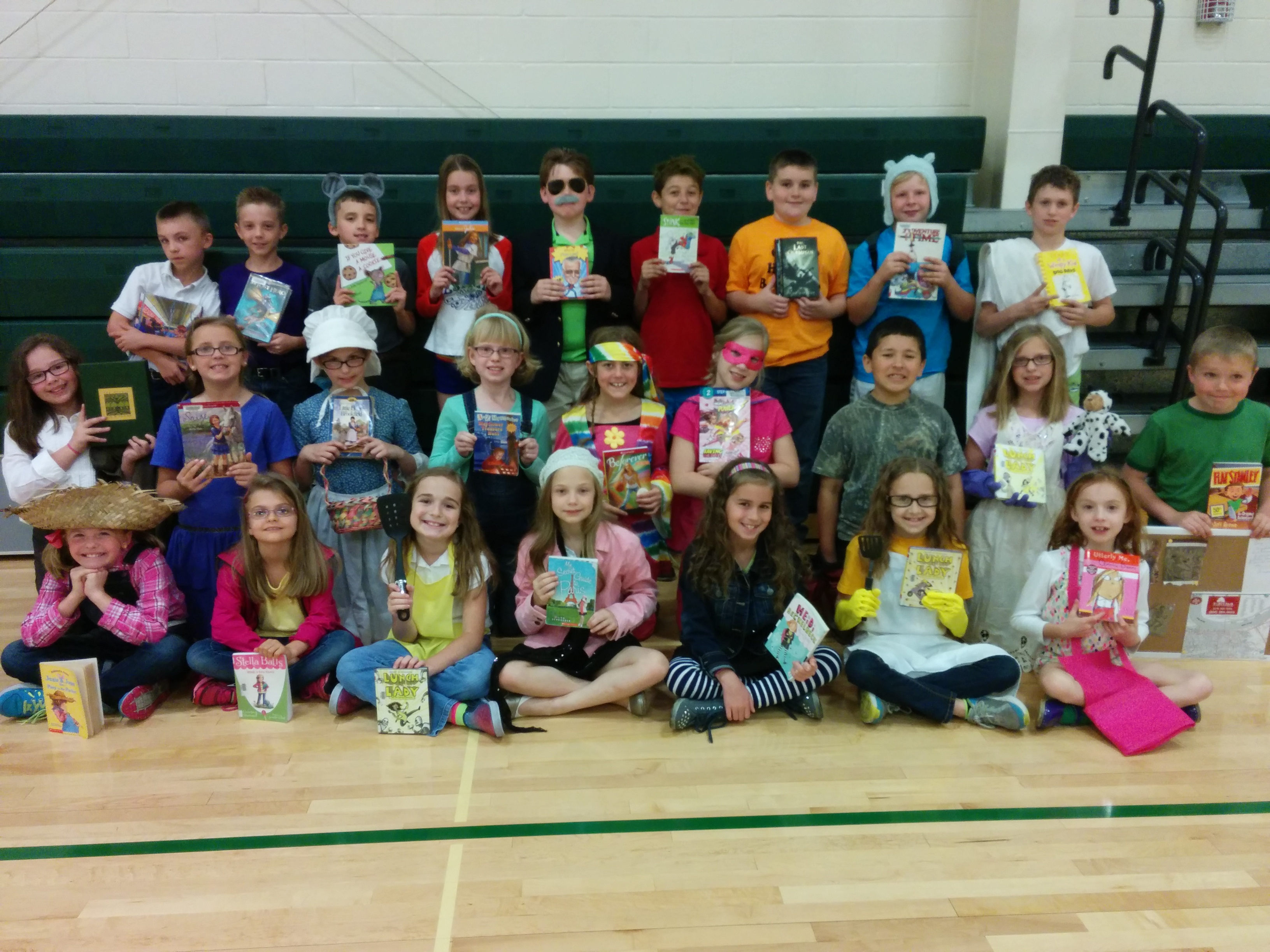 3rd Grade Storybook Character Day Owensboro Catholic Schools