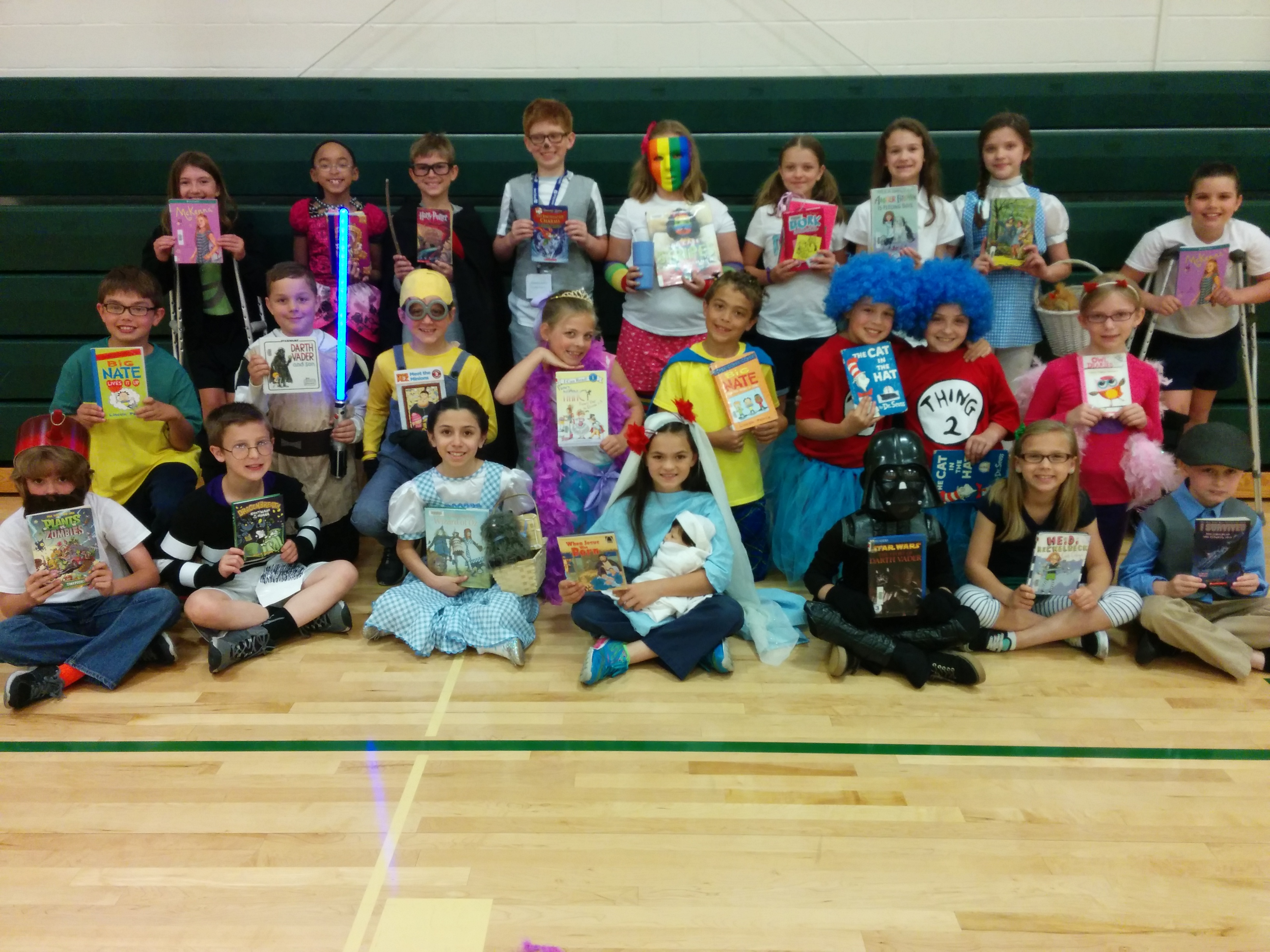 3rd Grade Storybook Character Day Owensboro Catholic Schools