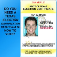 Texas Voter ID Law Update – Federal Lawsuit
