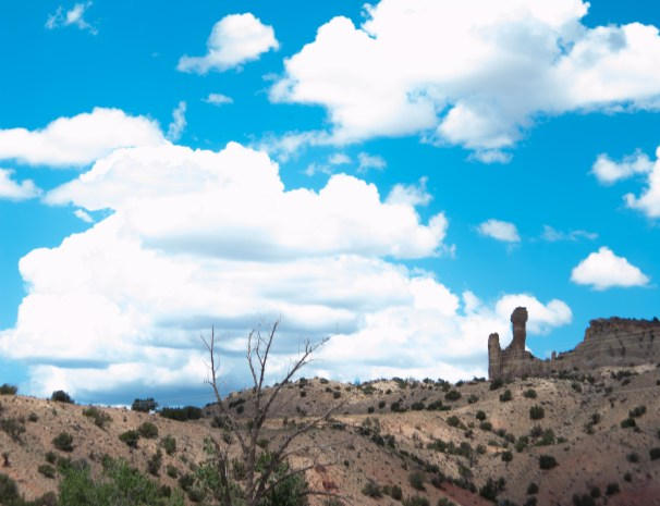 Ghost Ranch hoodoo. Photo by Jessica Leas.