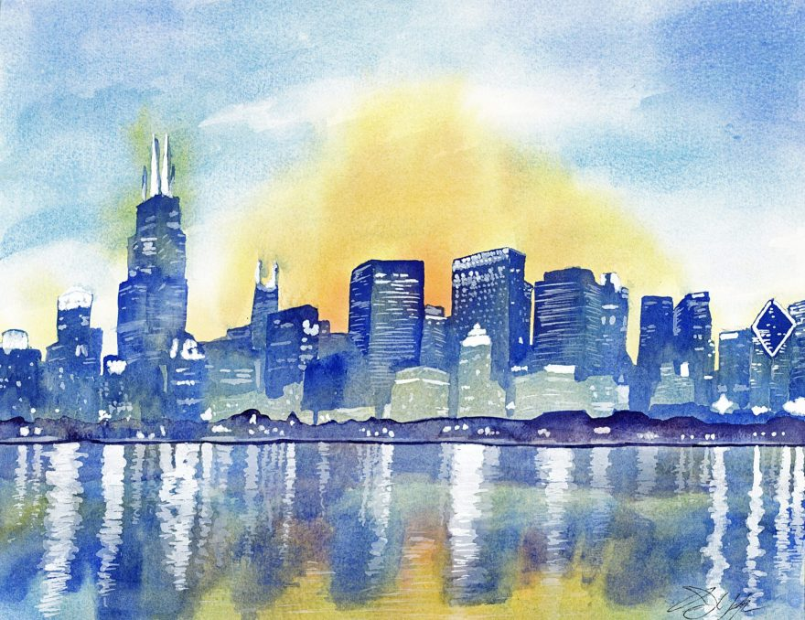 Owen York Art - Lake Shore Drive