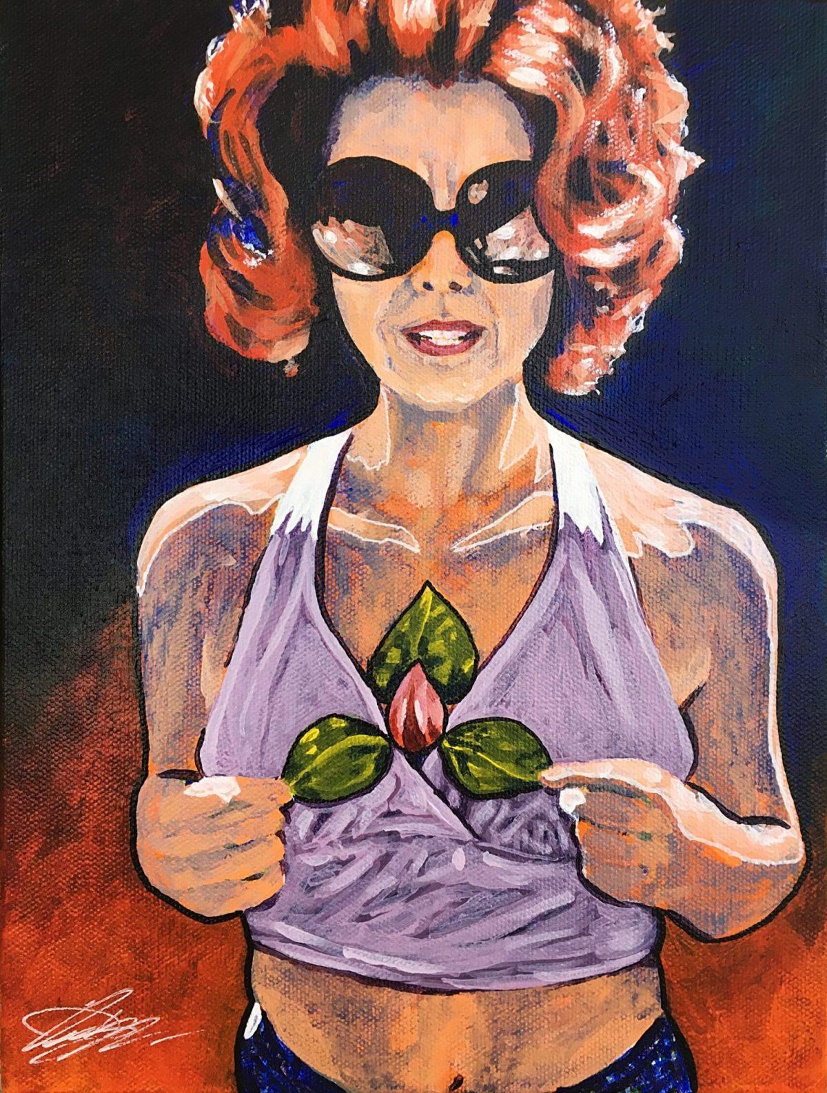 Owen York Art - Portrait of a Mother