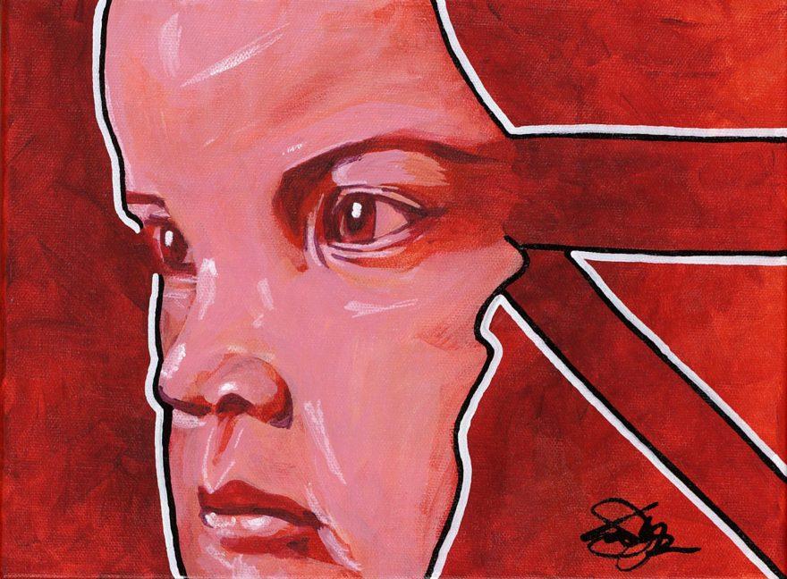 Owen York Art - The Little Eyewitness