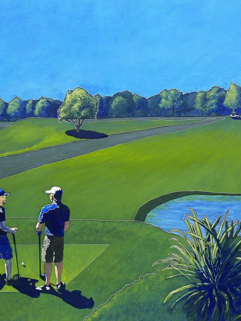 Owen York Art - The Par 3 Experience