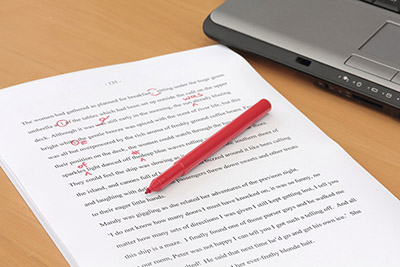 Research paper proofreading