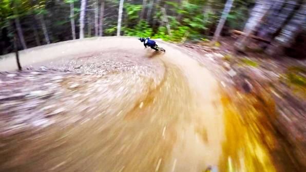 Crank It Up - Lower section at Whistler bike park, Canada