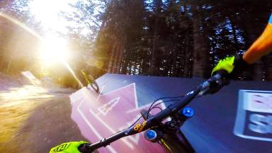 Crank It Up - upper at whistler bike park, Canada