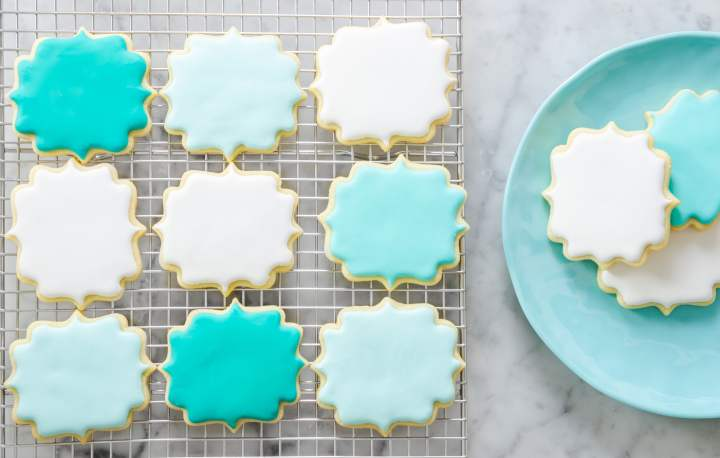 No Chill Sugar Cookie Cut Outs- flatlay