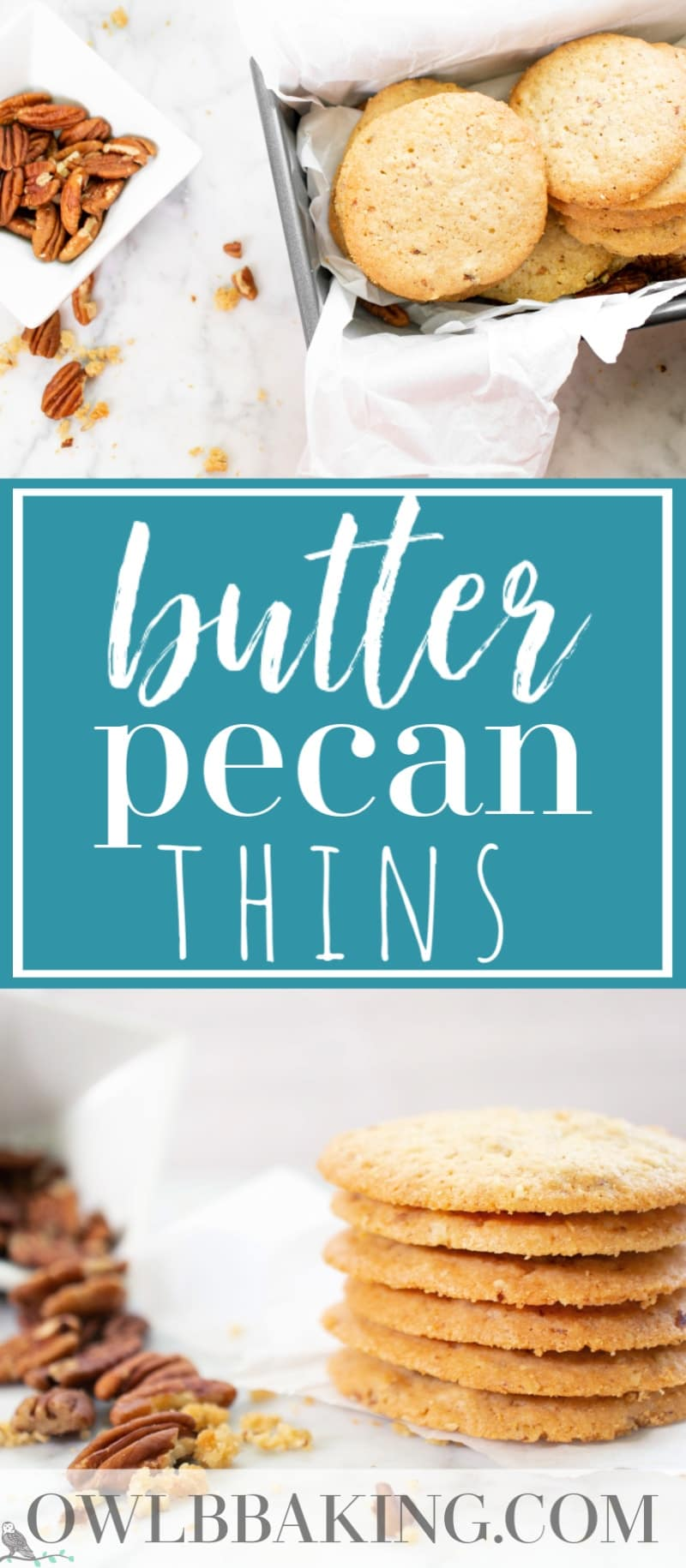 Butter Pecan Thins