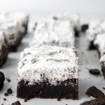 Oreo Brownies, Cookies and Cream Brownies