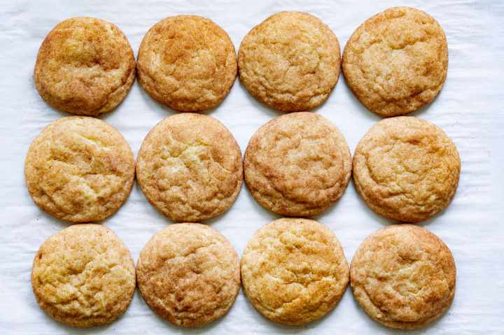 Snickerdoodle cookies recipe