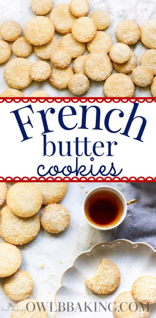 French Butter Cookies pin pinterest
