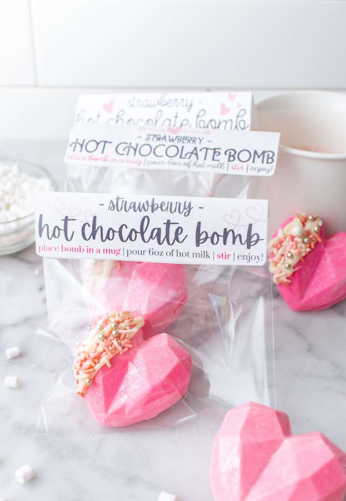 valentines day hot chocolate bombs 1
