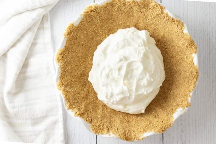 No bake cheesecake mixture n pie shell