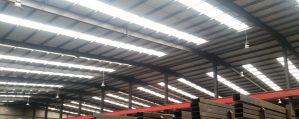 An image of warehouse LED lighting