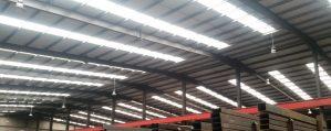 An image of led warehouse lighting