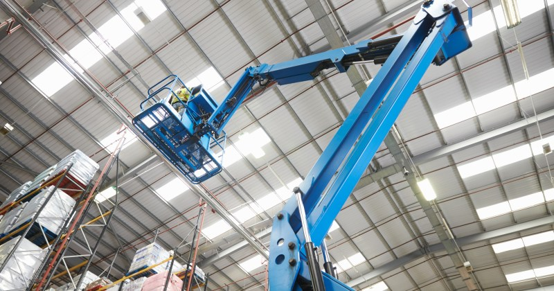 Owled industrial Lighting Installation