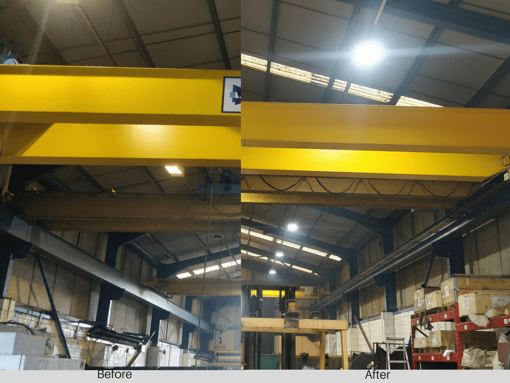 Owled Lighting Solutions have successfully completed a project at PMS Fabrication