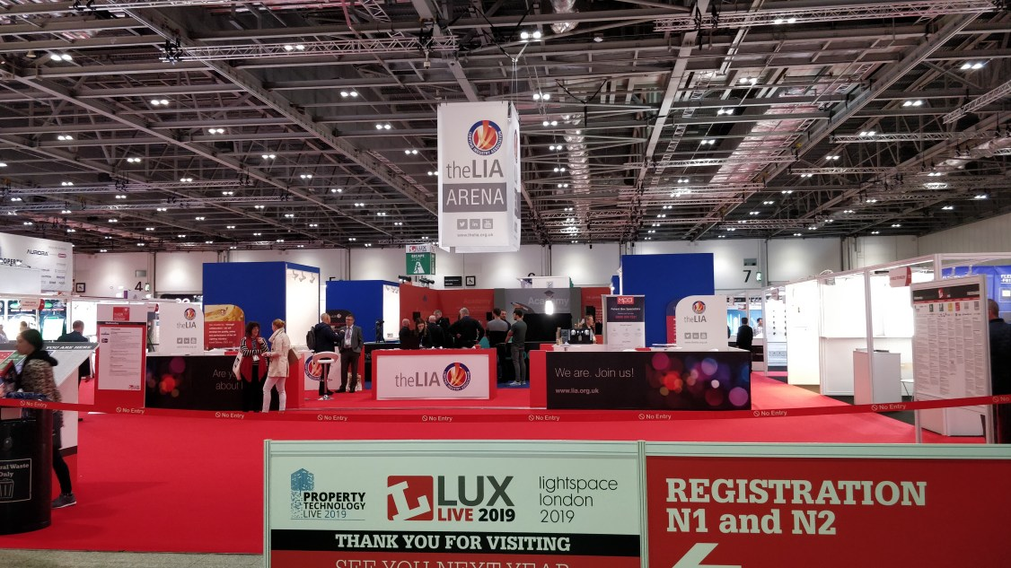 Lux Live Exhibition Hall for Industrial Lighting