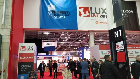 Lux Live Exhibition Hall Industrial Lighting 1