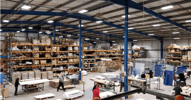 Starverton factory lighting title image