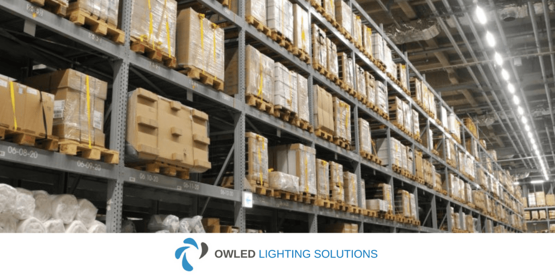 Owled Warehouse Lighting Installation