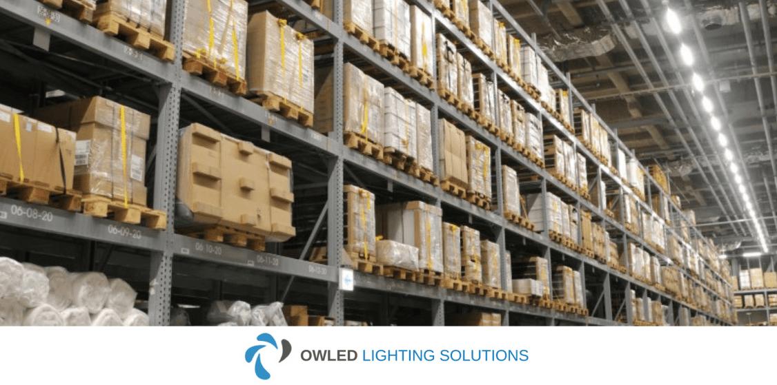 Owled Warehouse Lighting Installation