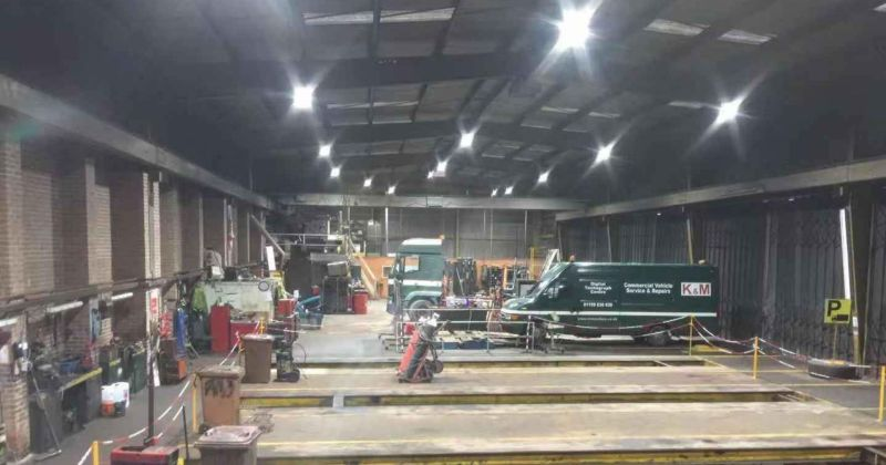 An image of K and M's Warehouse Lighting
