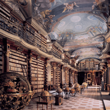 Cementinum Library Hall, Prague