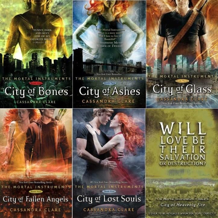 The Mortal Instruments - Cassandra Clare 1