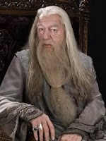 Richard Harris as Dumbledore