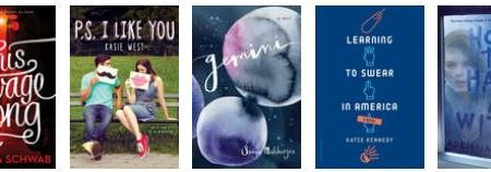 New releases: July 2016 - young adult 36