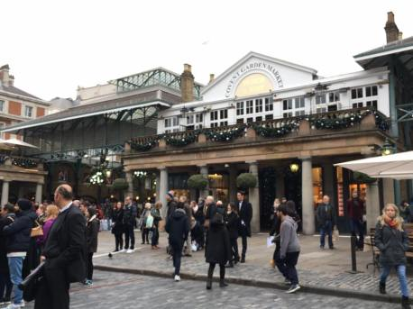 Covent Garden: tea