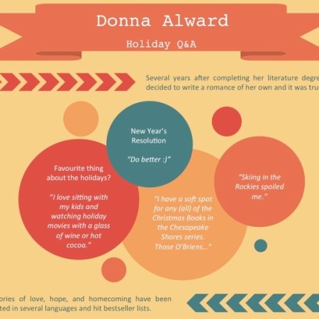 Romance author - holiday Q&A: Donna Alward 33