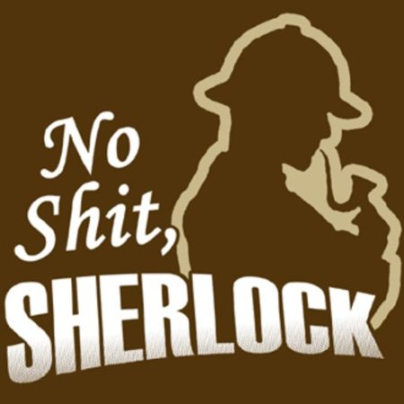 "Origins of ""no shit, Sherlock!"" 12"