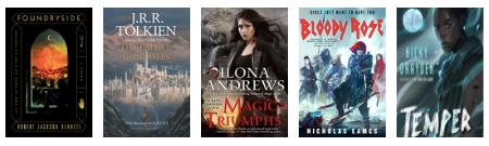 new fantasy books august 2018